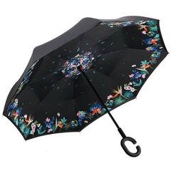 "Зонт-наоборот ""Цветочная поляна"""