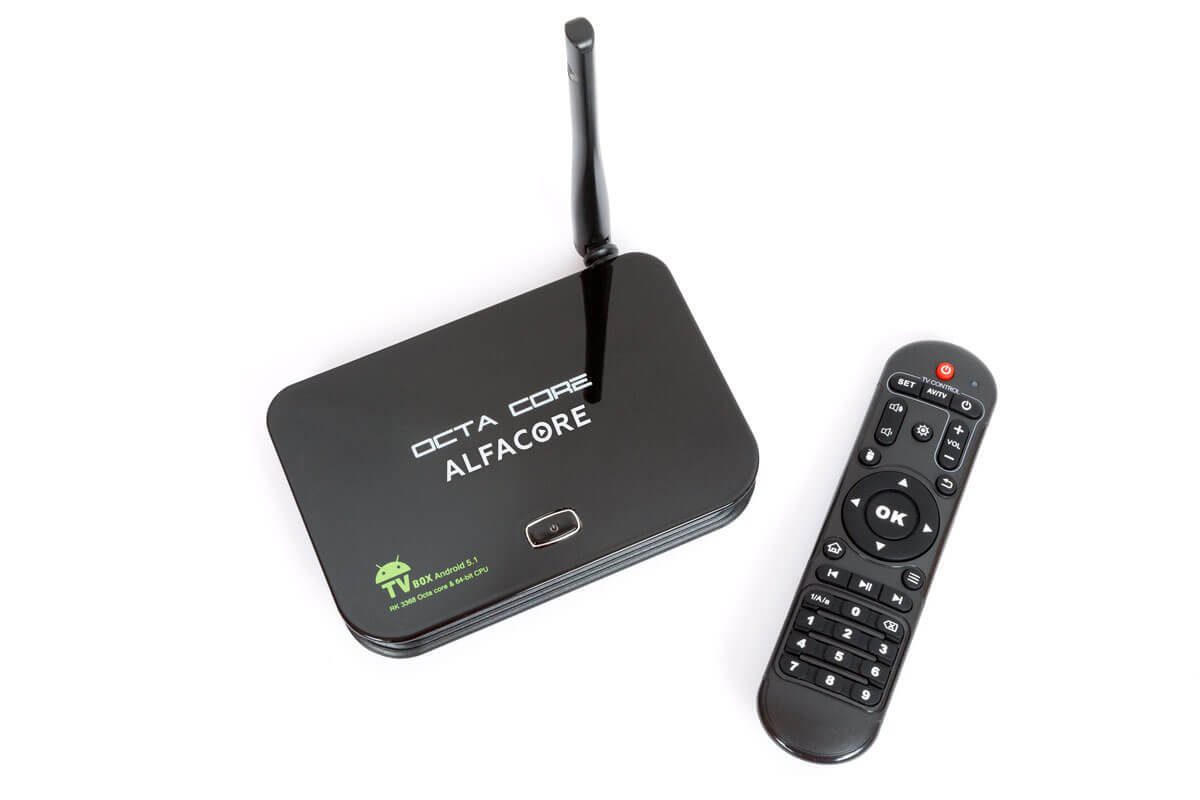 Фото android tv box Z4 Alfacore Smart tv Octa