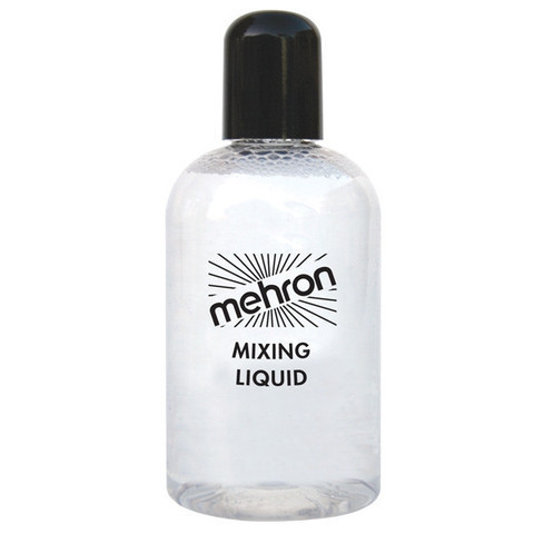 MEHRON Mixing Liquid Жидкость для фиксации блесток, пигментов, рассыпчатых теней, 133мл