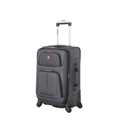 Чемодан WENGER SION, серый 37x22x60 см, 35 л