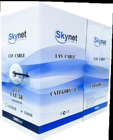 Купить кабель витая пара UTP нг LSZH 4x2x0,51 Cu, Fluke test, 305м., SkyNet Premium (CSP): цена за метр