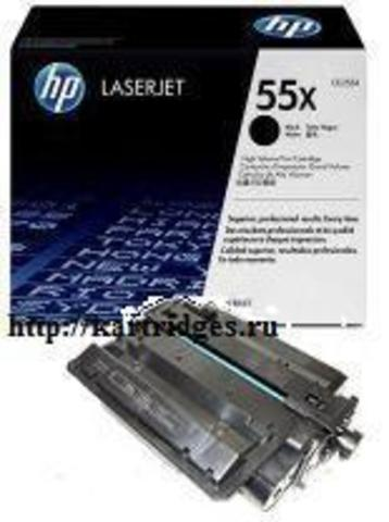 Картридж Hewlett-Packard (HP) CE255X