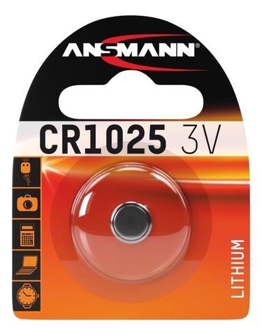 Батарейка CR 1025 ANSMANN 3V (Premium)