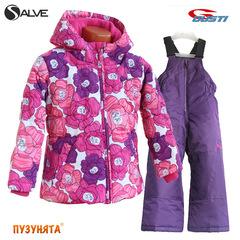 Комплект для девочки зима Salve 3164 dark violet