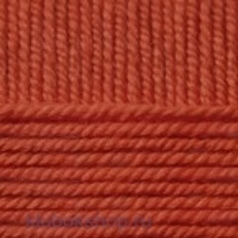 Пряжа Зимний вариант (Пехорка) 338 Кирпичный - купить в интернет-магазине недорого klubokshop.ru