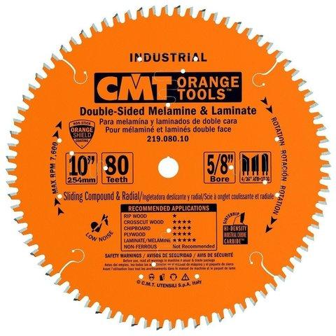 Диск пильный 305x30x3,0/2,5 Z=90 ATB+TCG a=-5° древесина, ламинат CMT 219.090.12M