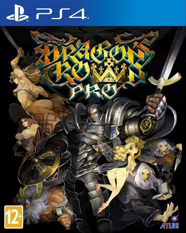 Sony PS4 Dragon's Crown Pro. Steelbook Edition (английская версия)