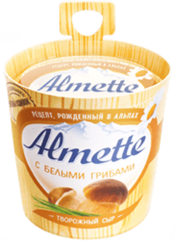 """Сыр творожный """"Almette"""" с белыми грибами 60%, 150 г"""
