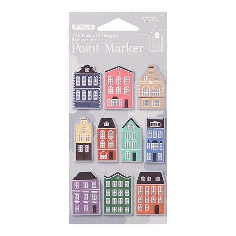 Midori Point Marker (Ie-gara, здания)
