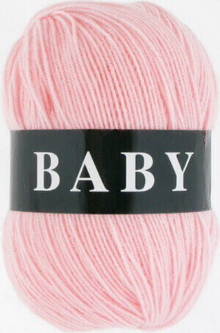 Пряжа Baby (Vita) 2881 Нежно-розовый фото