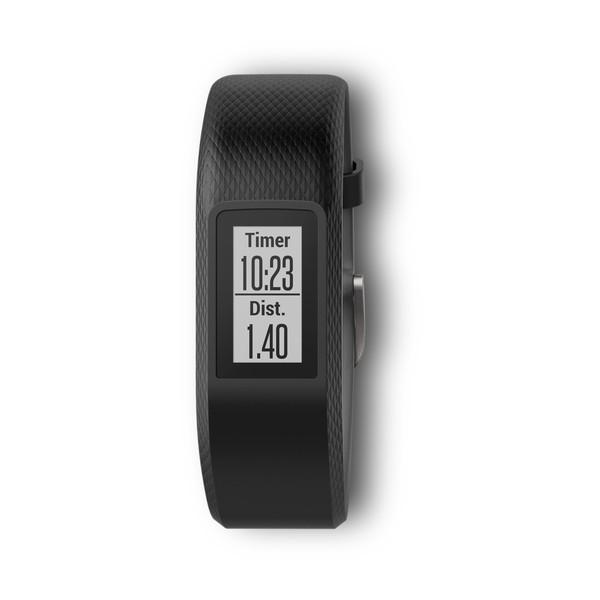 Фитнес-браслет Garmin Vivosport с пульсометром (черный малого размера)