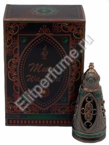 Musk Wa Oud / Муск Ва Уд 12 мл арабские масляные духи от Халис Khalis Perfumes