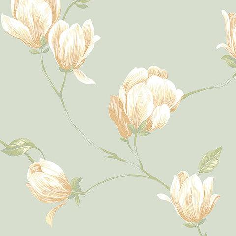 Обои Aura English Florals G34330, интернет магазин Волео