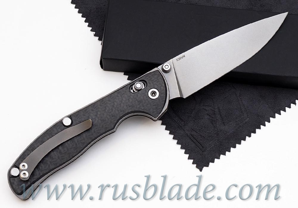 Shirogorov Tabargan 100NS S35VN 3D CF Carbon