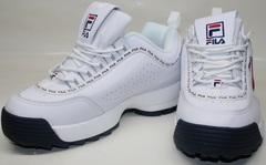 Белые женские кроссовки Fila Disruptor 2 FW01655-114