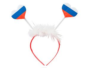 Всё для праздника Ободок Флажки-Сердечки триколор 1501-3726_m1.jpg