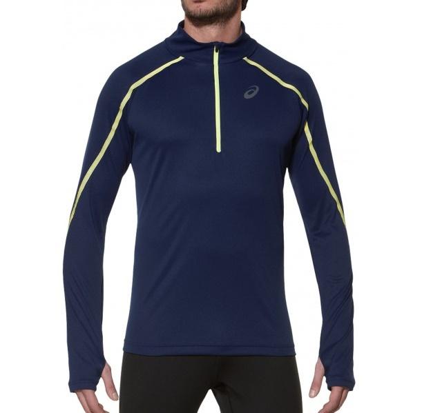 Мужская беговая рубашка Asics Lite-Show LS Zip (124756 8052)