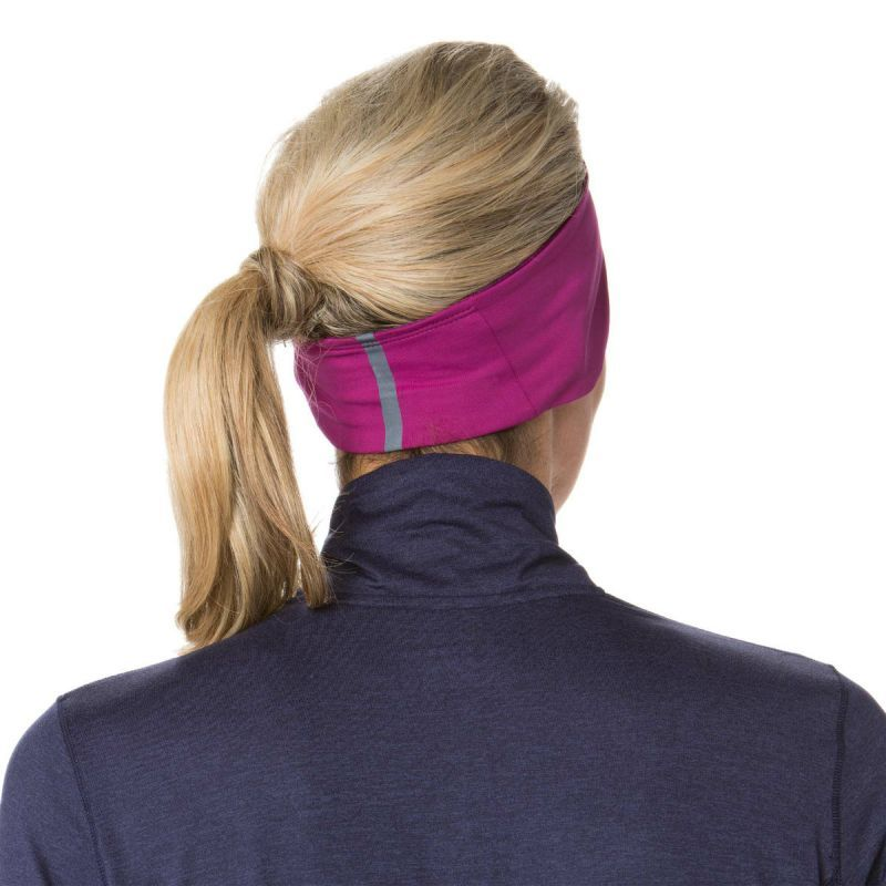 Спортивная повязка на голову Brooks GreenLight Headband Currant 280317-639 фуксия