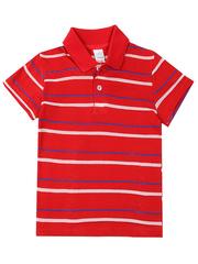 10461 футболка для мальчиков, красная