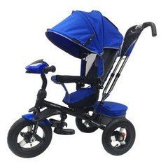 Велосипед Moby Kids Comfort 360° 12x10 AIR Синий (641068)