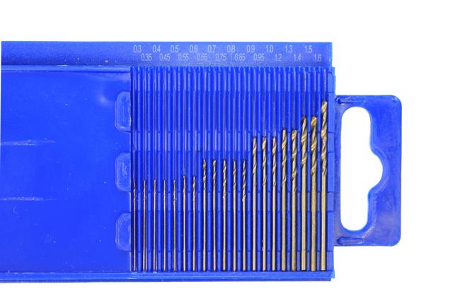 Инструменты Мини-сверла, диаметр 0,3-1,6 мм, набор 20 шт., P6M5 (Белые) import_files_1e_1ed169ac167311e19d6d001fd01e5b16_cdb28be7217011e1a329002643f9dbb0.jpeg