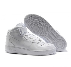 Nike Air Force 1 Mid '07 High all white