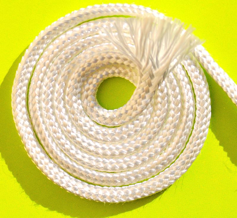 Шнур кремнеземный, наполненный кремнеземной нитью ШКН(Н) 1-6 мм