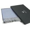 Плед-шарф шерстяной 30x200 Alpaka голубой