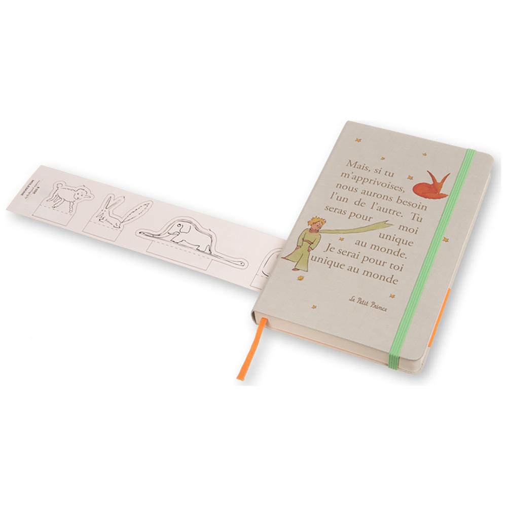 Ежедневник Moleskine Le Petit Prince Daily LG, цвет серый