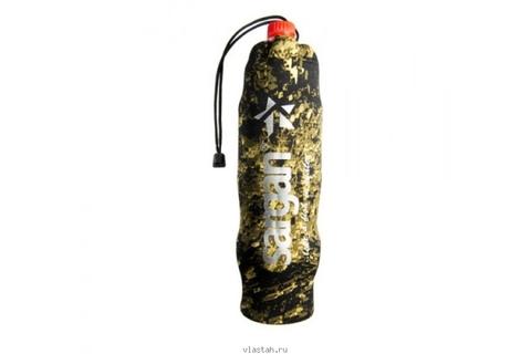 Чехол SARGAN под бутылку 1.0-1.5 л, камуфлированный неопрен RD2.0 5мм, на зятяжке