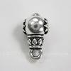 "Бейл TierraCast ""Гуру лотоса"" 16х9х8 мм (цвет-античное серебро)"
