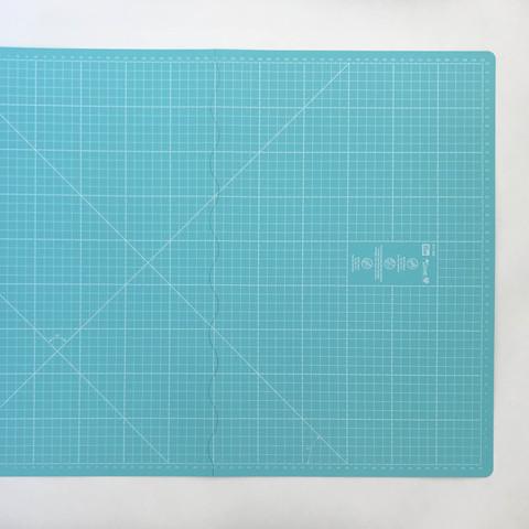Раскройный коврик Prym Love складной, бирюзовый 60х45см  (Арт. 611465)