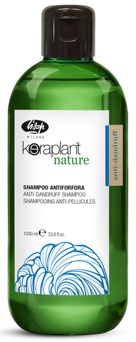 Очищающий шампунь для волос против перхоти Keraplant Lisap 1000 мл