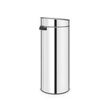 Мусорный бак Touch Bin New (30 л), Стальной полированный, арт. 115325 - превью 2