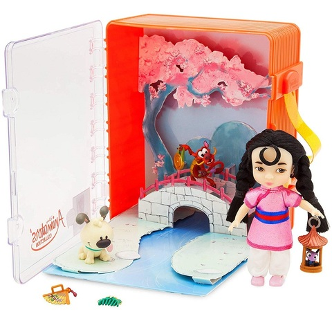 Дисней Мулан Аниматор набор с мини-куклой