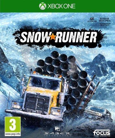 Xbox One SnowRunner Стандартное издание (русская версия)