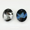 6911 Подвеска Сваровски Kaputt Oval Crystal Metallic Blue (36 мм)