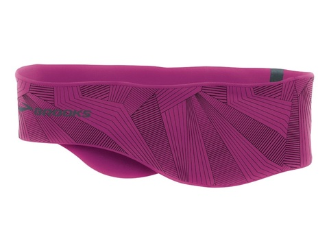 BROOKS GREENLIGHT HEADBAND CURRANT повязка на голову