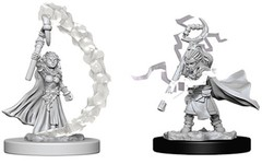 Pathfinder Deep Cuts Unpainted Miniatures - Gnome Female Sorcerer