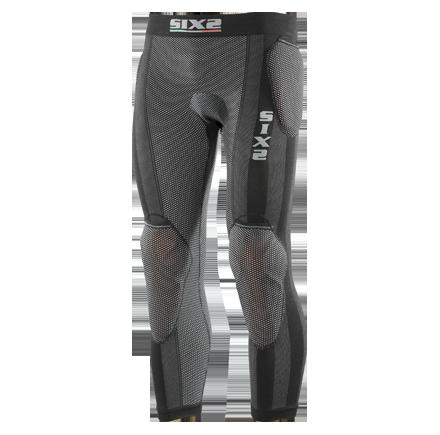 Sixs, Защитные легинсы с защитой бедра, колена и памперсом Kitpropn2, черный