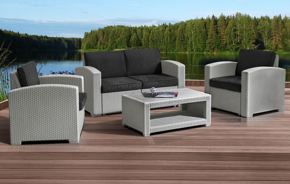 Комплекты для отдыха Комплект мебели IDEA LUX SET (Grey) 1_lux4s2.jpg