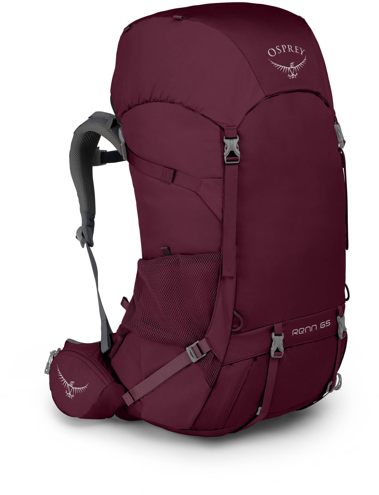 Renn Рюкзак женский туристический Osprey Renn 65 Aurora Purple (2019) Renn_65_S19_Side_Aurora_Purple_web.jpg