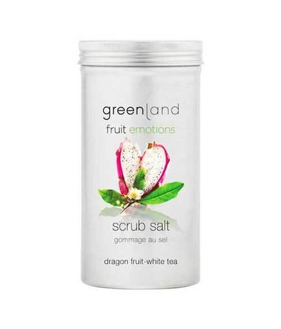 Скраб-соль для тела Питайя-белый чай, Greenland
