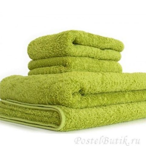 Полотенце 70х140 Abyss & Habidecor Super Pile 165 green apple