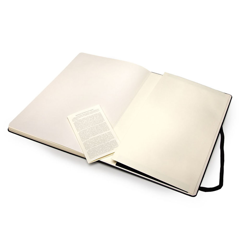 Блокнот Moleskine Sketchbook Large, цвет черный