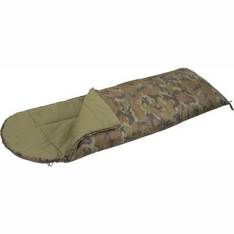 Спальный мешок-одеяло СП 3M Mobula (камуфлированный) c подголовником