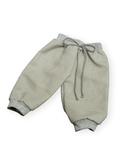 Брюки хлопковые - Серый. Одежда для кукол, пупсов и мягких игрушек.
