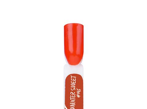 BF145-4 Гель-лак для покрытия ногтей. Winter Sweet #145 Свет от камина