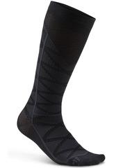 Компрессионные высокие носки Craft Pattern Black Compression