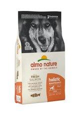 Корм для взрослых собак крупных пород, Almo Nature Large&Salmon, с лососем